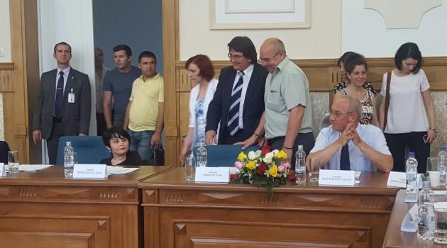 Vot secret de formă în plenul CL Timişoara! Ilare Bordeaşu (ALDE) contestă legalitatea alegerilor pentru viceprimarii Timişoarei