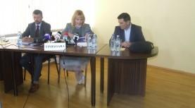 Anca Dragu, ministrul Finanţelor, a prezentat la Timişoara noul sistem de plată a impozitelor cu cardul