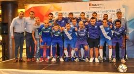 """Turneul Internațional de Futsal la Sala Sporturilor """"Constantin Jude"""" din Timișoara"""