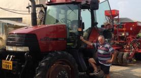 """Luigino Zamparo fermier italian din Timiş: """"A face agricultură în România este un risc enorm!"""""""