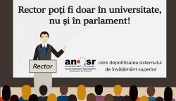 Studenții din întreaga țară nu vor parlamentari-rectori. Ce solicită urgent Guvernului