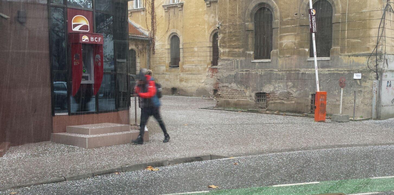 ploaie timisora grindina