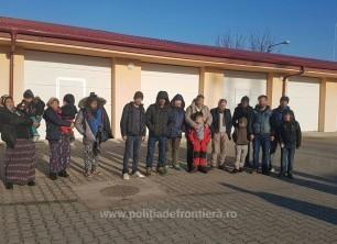 17 migranți, printre care și nouă copii, au încercat să intre ilegal din Serbia în România