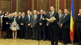 Președintele CJT, Sorin Grindeanu a organizat o recepție la Palatul Baroc cu ocazia Zilei Naționale a României