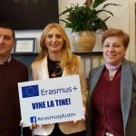 Inspectoratul Şcolar Judeţean Timiş a dat startul campaniei on-line Erasmus vine la tine