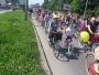 """Pedalare colorată la Timișoara: sute de femei la """"Cochete pe biciclete"""""""
