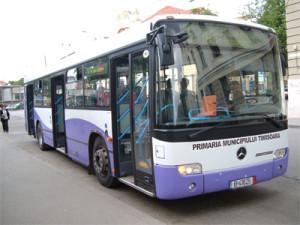 Se modifică traseul mai multor mijloace de transport în comun