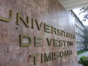 UVT ocupă locul 5 în topul celor 18 universităţi din România