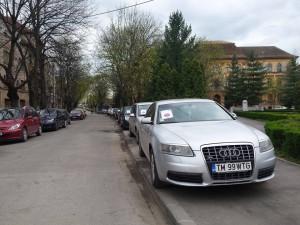 parcare trotuar timisoara