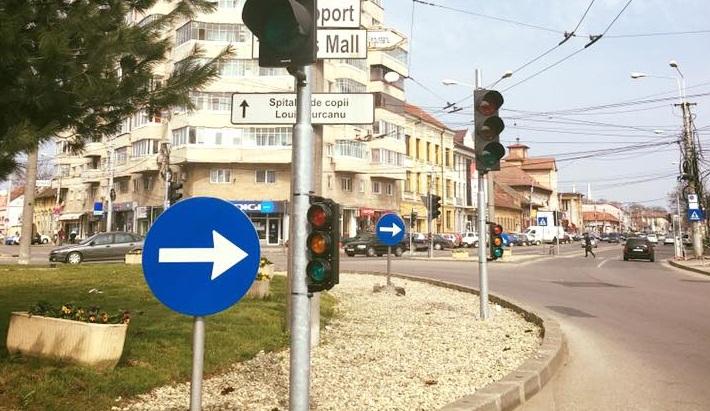 semafor calea sagului