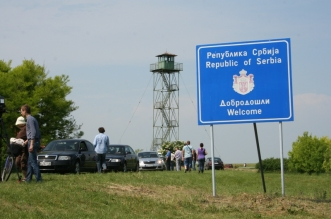 frontiera serbia