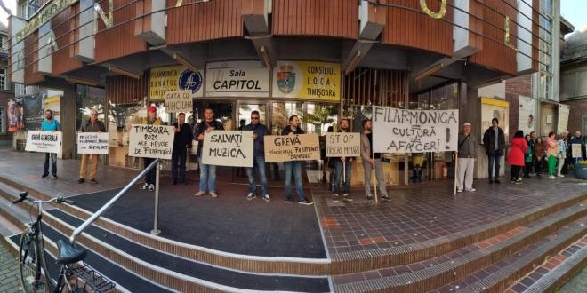 protest filarmonica