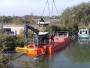 Echipamente tehnice noi pentru întreținerea canalului Bega achiziționate de ABAB